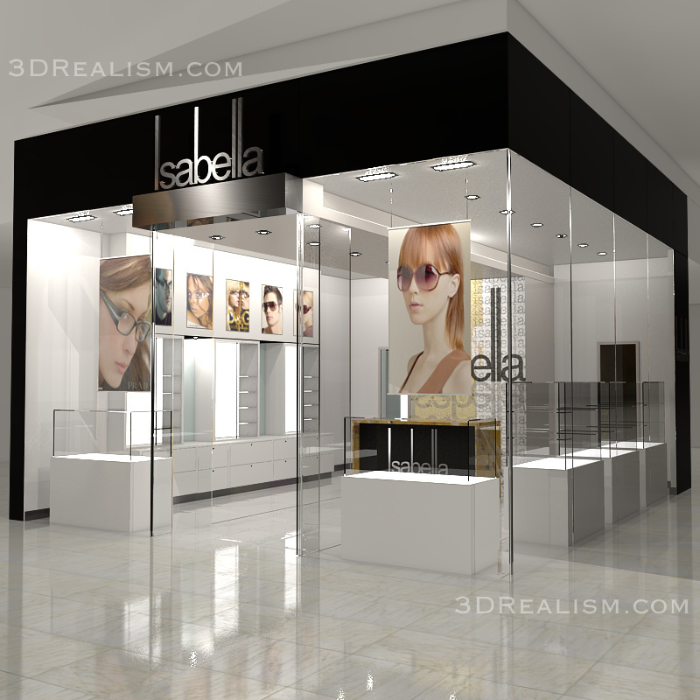 Retail Shop Visualization - 3D Realism