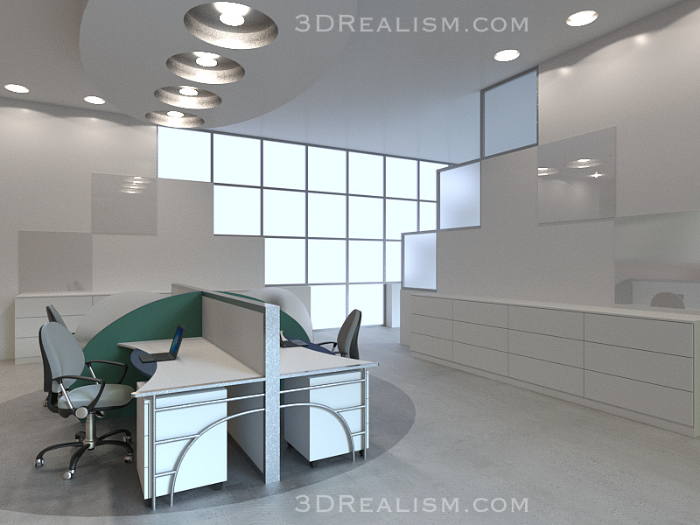 Work Space Visualization - 3D Realism
